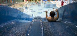 Zjeżdżalnia basen dla dzieci