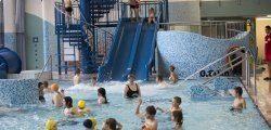 Strefa dla dzieci zjeżdżalnie basenowe