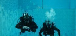 Basen nurkowy głębokość  5 metrów