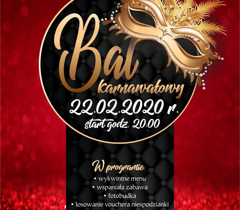 Bal Karnawałowy 22.02.2020