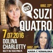 Suzi Quatro i Kasia Kowalska