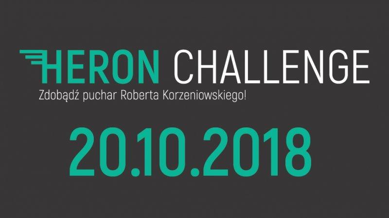 HERON CHALLENGE - BIEGNIJ JUŻ 20.12