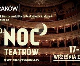 Noc teatrów w Krakowie