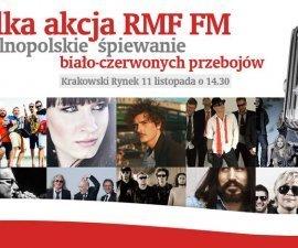 Święto Niepodległości na Rynku Głównym w Krakowie