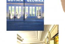 Zwiedzanie Dworca Głównego w Gdyni