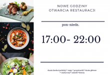 New restaurant opening hours