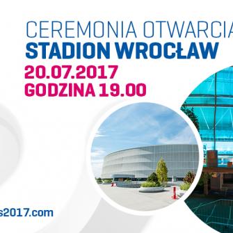 CEREMONIA OTWARCIA IGRZYSK THE WORLD GAMES 2017 JUŻ 20 LIPCA