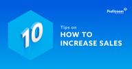 Increase sales through your website