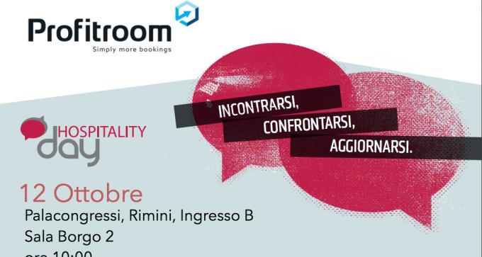 Profitroom all'evento HospitalityDay a Rimini