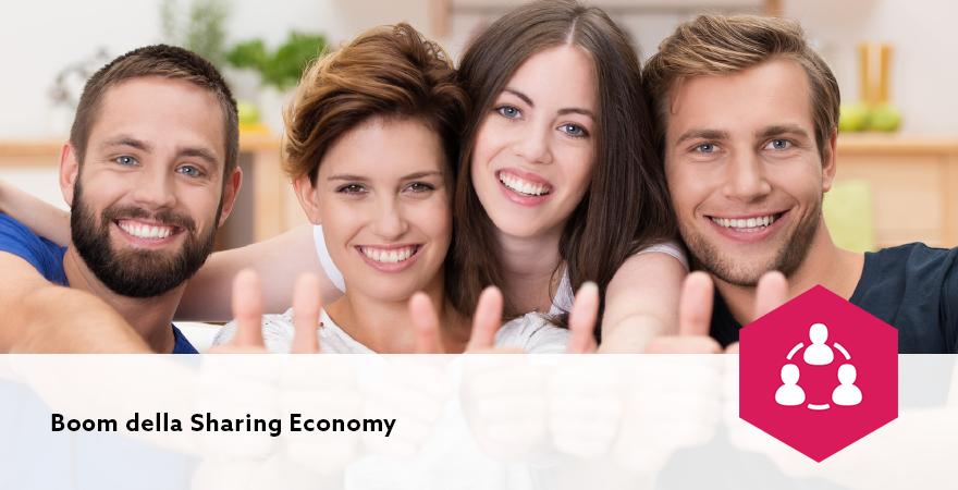 Boom della Sharing Economy