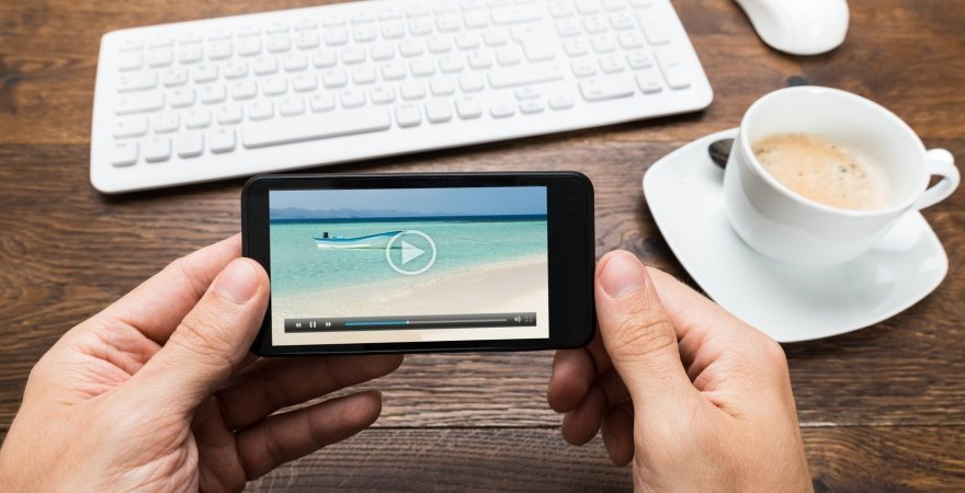 Online video consumption is growing. Thanks to smartphones