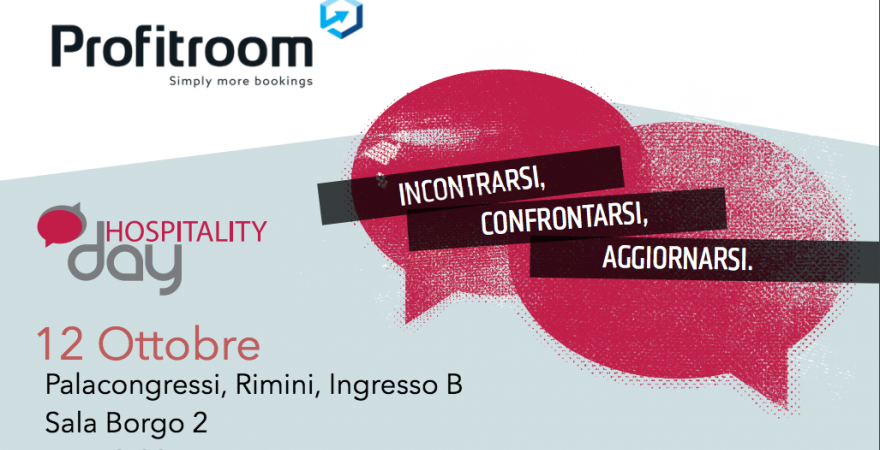 Profitroom all'evento HospitalityDay a Rimini