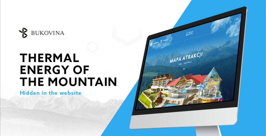 Thermal Energy of the Mountains – how a website can take you space - travelling