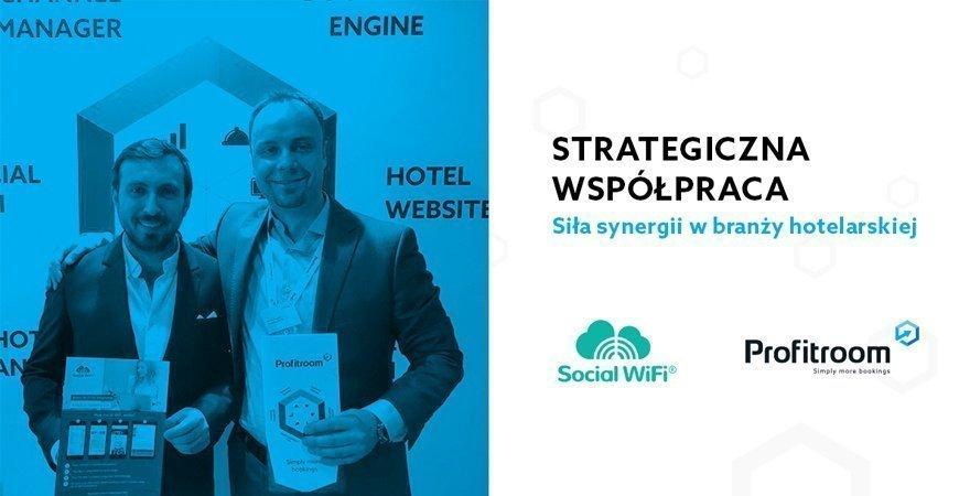 Strategiczna współpraca Profitroom i Social WiFi