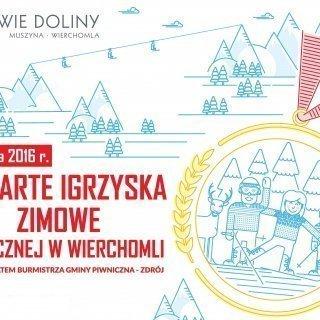 Otwarte Igrzyska Zimowe Piwnicznej w Wierchomli pod patronatem Burmistrza Gminy Piwniczna - Zdrój Zbigniewa Janeczka