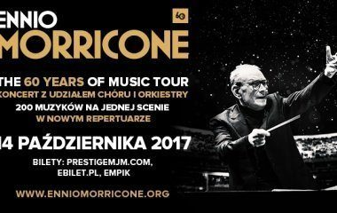Król muzyki filmowej Ennio Morricone w Łodzi!