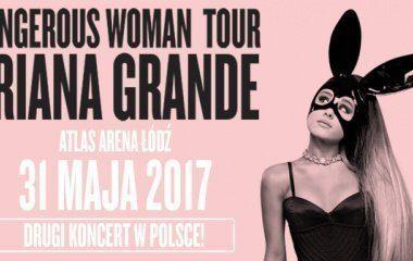 Ariana Grande w Atlas Arenie!