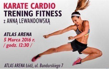 Trening z Anną Lewandowską w Atlas Arenie!