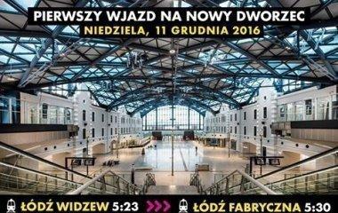 Otwarcie Dworca Łódź Fabryczna w Łodzi!