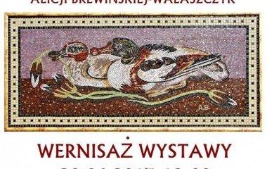 Świat mozaiki. Wystawa prac Alicji Brewińskiej-Walaszczyk w Starym Kinie!