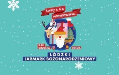 Jarmark Bożonarodzeniowy na ulicy Piotrkowskiej w Łodzi!