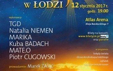 Kolędowanie w Atlas Arenie - Betlejem w Łodzi!