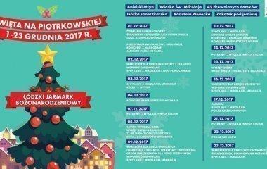 Jarmark Bożonarodzeniowy na ulicy Piotrkowskiej!