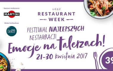Restaurant Week - Festiwal Najlepszych Restauracji w Łodzi.