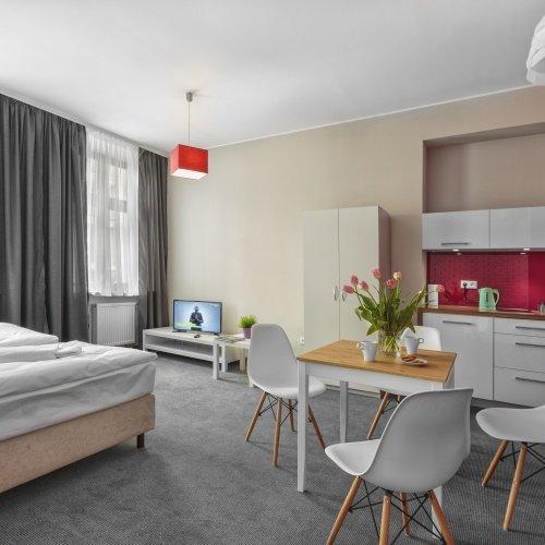 Apartamentowiec w Aurora hotel