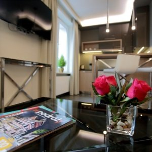 Salon w Apartamencie nr 3
