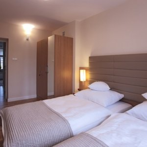 Sypialnia w Apartamencie nr 7