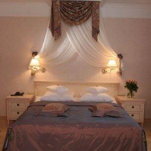 Sypialnia w Apartamencie Różanym