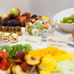 Bufet śniadaniowy w Restauracji Oranżeria
