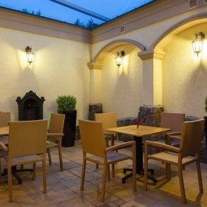Letnie patio w Restauracji Oranżeria