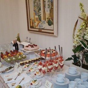 Bufet w Restauracji Oranżeria