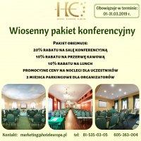 Wiosenny pakiet konferencyjny