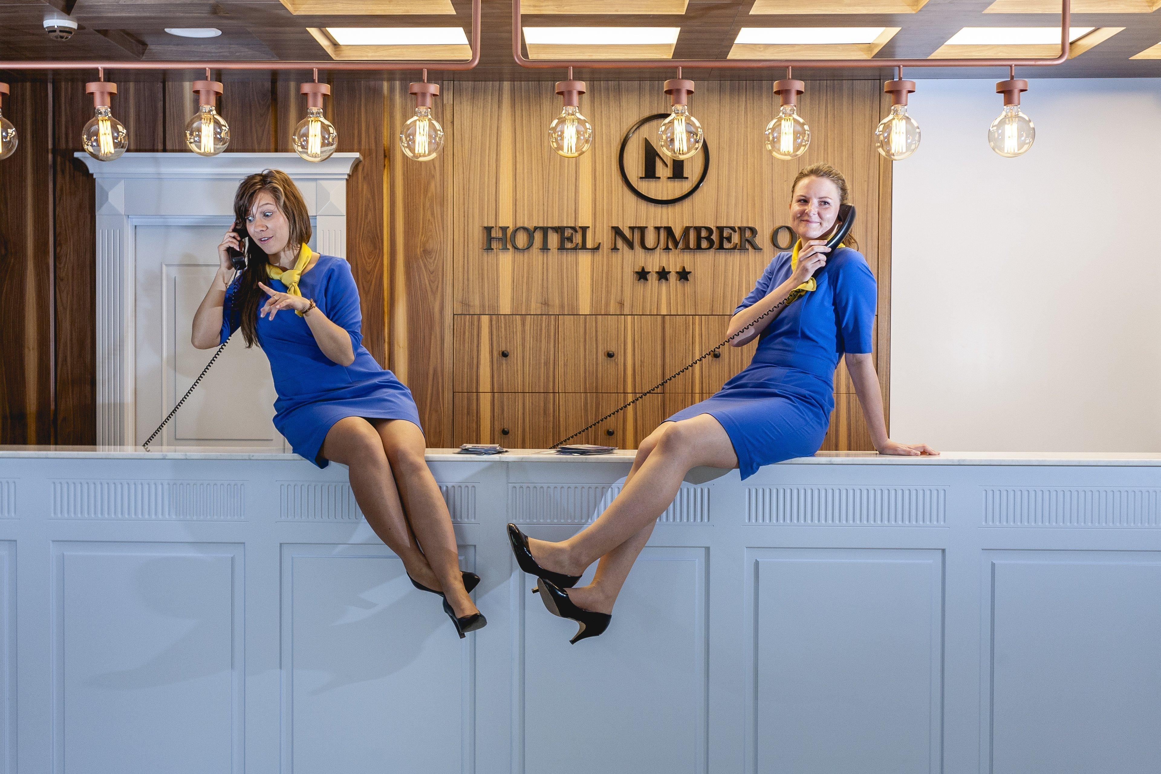 Recepcja Hotelu Number One