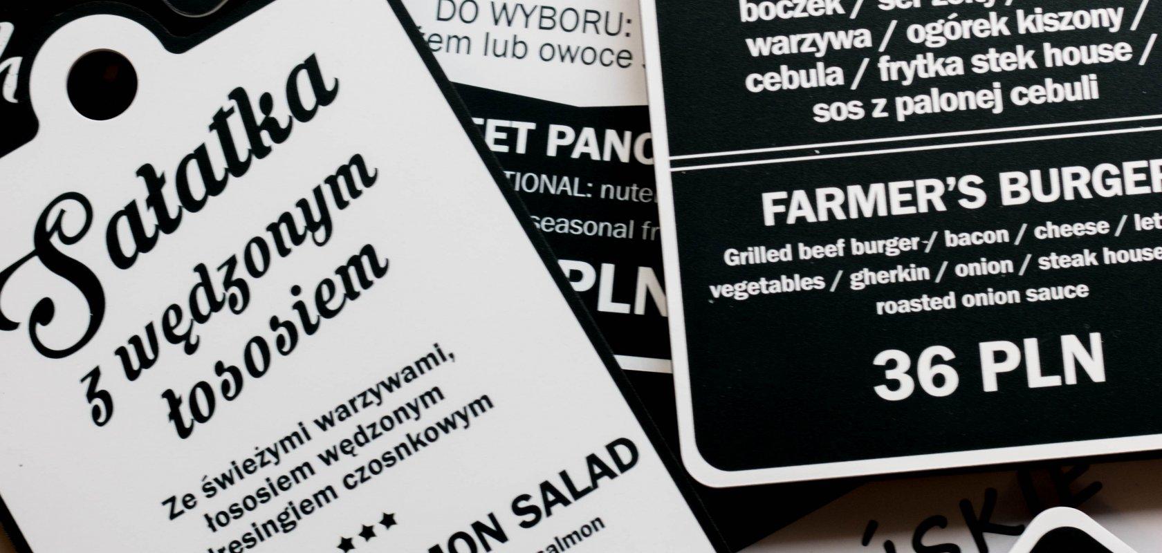 NOWOŚCI menu Grill Bar