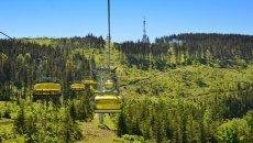 Ski-lift auf Skrzyczne
