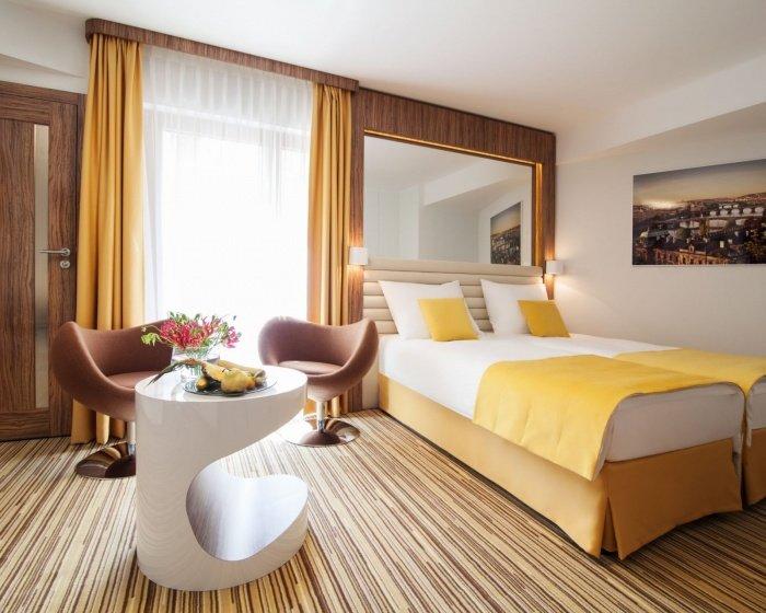 Ein sehr modernes Hotel zu einem guten Preis