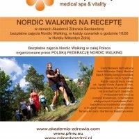 Bezpłatne zajęcia nordic walking z instruktorem dla mieszkańców Miłomłyna i  naszych Gości!