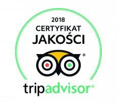 Neptuno Resort & Spa po raz kolejny wyróżniony prestiżowym Certyfikatem Jakości 2018 przez serwis TripAdvisor