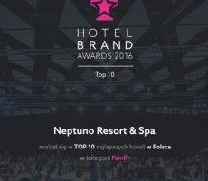 Neptuno Resort & Spa wśród TOP 10 Najlepszych Hoteli w Polsce w kategorii Family