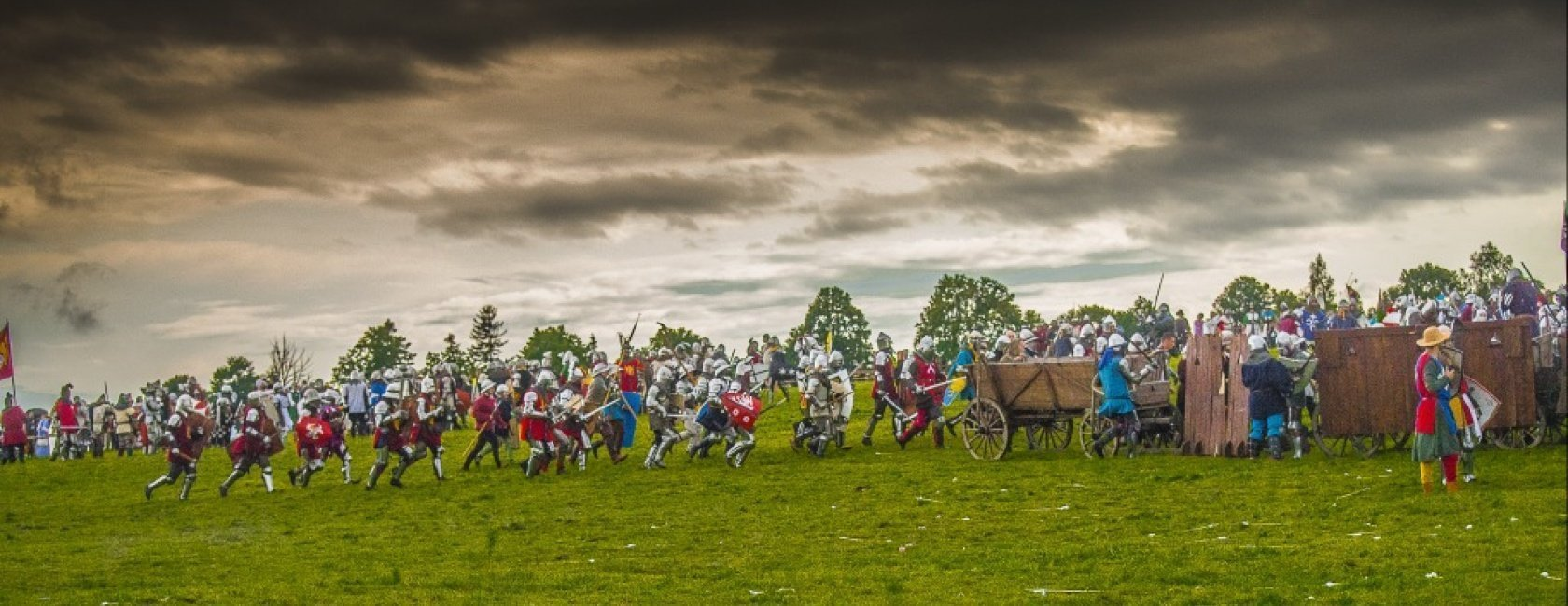 Grunwald - a reconstruction of the famous battle of 1410