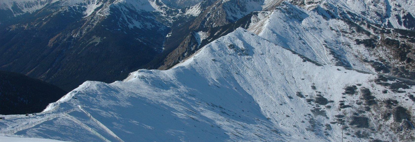 Tatrzański hiking zimą