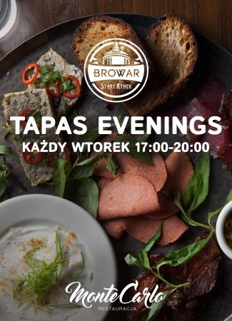 EVERY TUESDAY - TAPAS EVENING