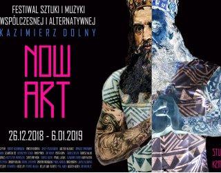 Festiwal Now Art! w Kazimierzu Dolnym