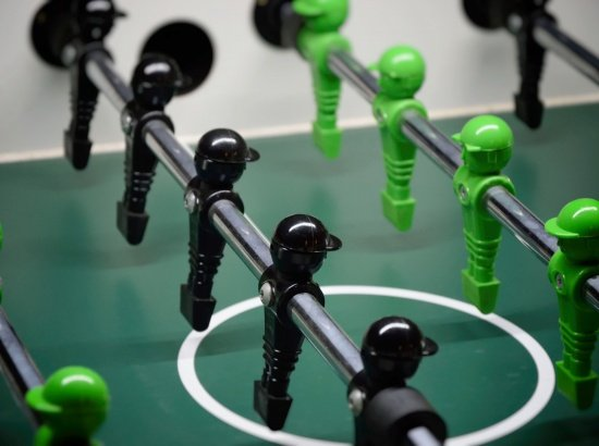 piłkarzyki i darta
