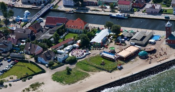 The harbour in Darłówek