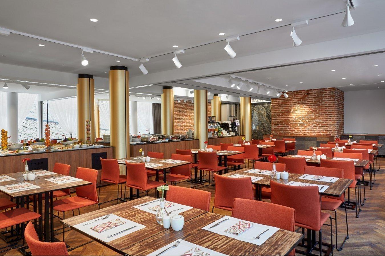 Kuchnia W Restauracji Hotelowej Inx Design Hotel W Krakowie